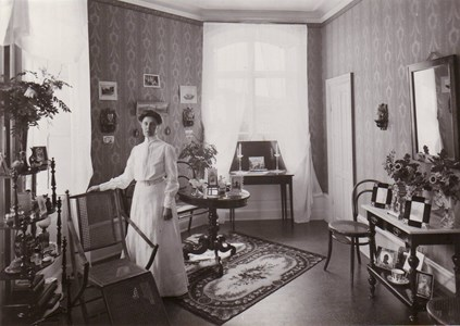 Hägerstad slott  Bertha Hörnström