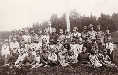 Holmbo skolkort vilket årt