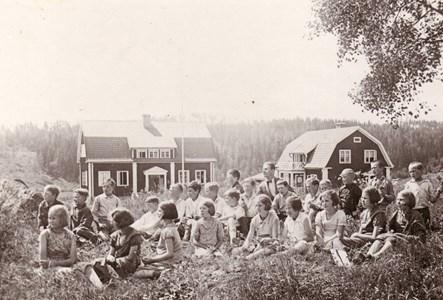 Holmbo skola 1934-1935