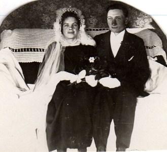 Hilda och Erik Andersson, Lishagen Härad.