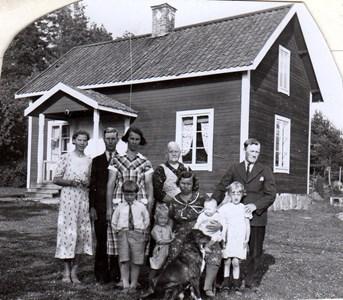 Familjen Bärgård med främmande Johannestorp, Härad.