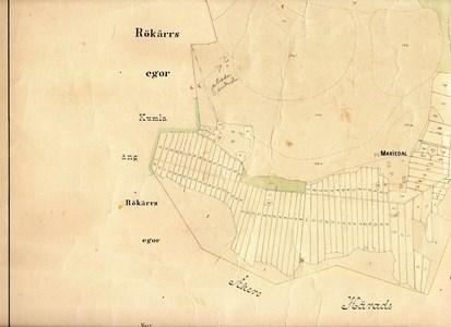Gredby karta 1870 J