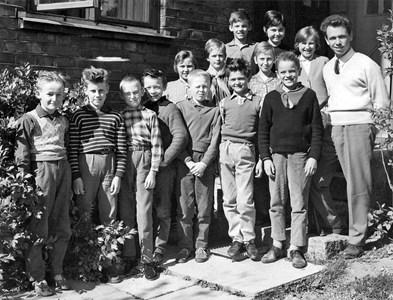 Bäck skola 1960-61
