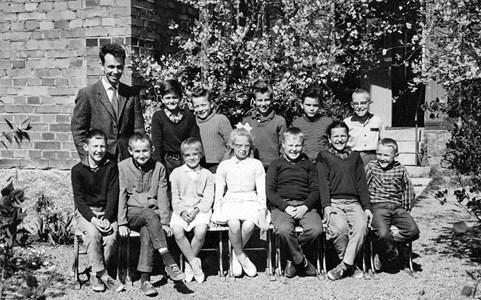 Bäck skola 1961-62