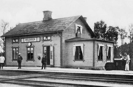 Bälgviken station #01