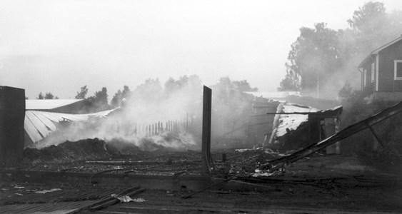 Årby Såg #34 Morgonen efter branden