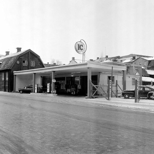 IC-bensinmack Munkgatan 14, Västerås