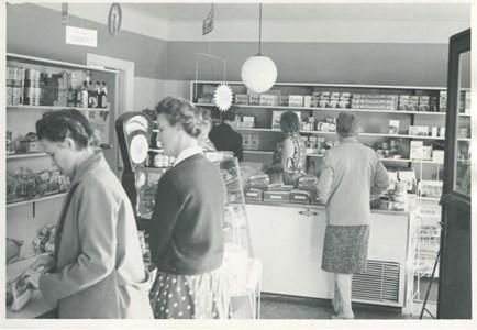 Arne Anderssons butik Järnforsen (f.d. Konsum)