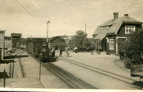 Järnforsens järnvägsstation