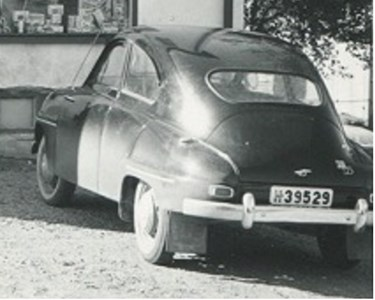 SAAB 93B de Luxe 1959