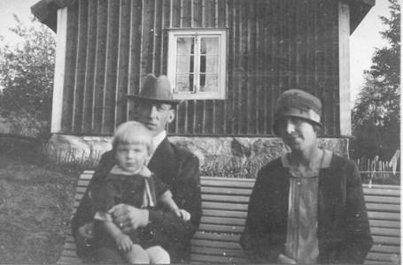 Anna o. Einar Käll o. sonen Lennart