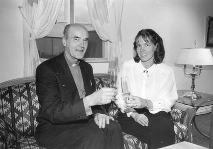 Martin Lönnebo och Marie Waern