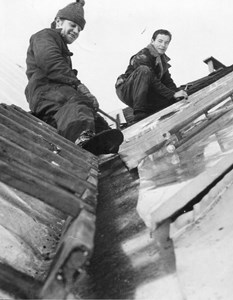 Roland Gustavsson och Bert Rydén