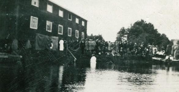 Dop i hamnen