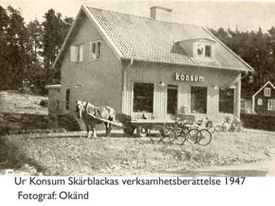 Butik i Krokhagen