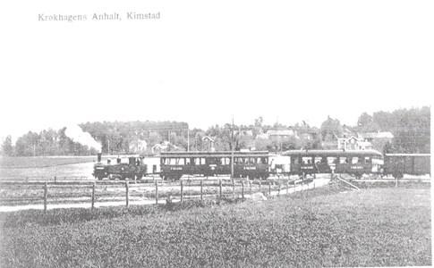 Krokhagen hpl  med tåg