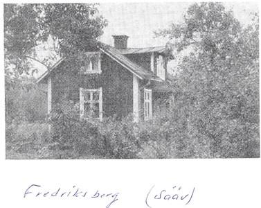 Fredriksberg/Västerhagen