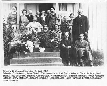 1-Johanna Lindblom 75 år textS