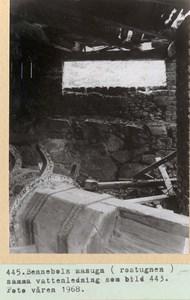 0445 Bennebols masugn, vattenledning 1968.jpg