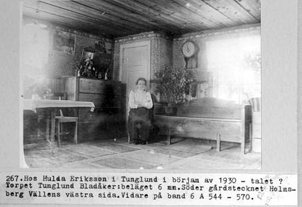 0267 Tunglund. Hulda Eriksson ca 1930.jpg