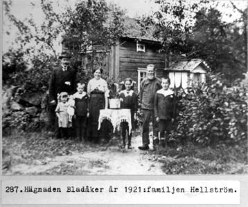 0287 Hägnaden Bladåker 1921, Fam. Hellström.jpg