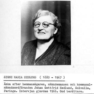 0506 Signe Maria Hedlund 1966