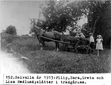 0152 Filip, Sara och Greta Hedlund, Solvalla.jpg