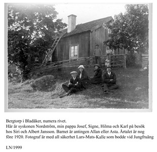 0522 Bergtorp, Fam. Nordström 1922.jpg