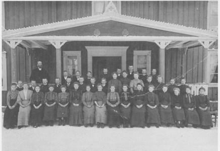 Konfirmander 1909
