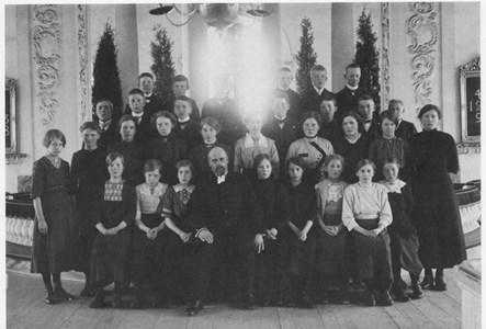 Konfirmander 1914