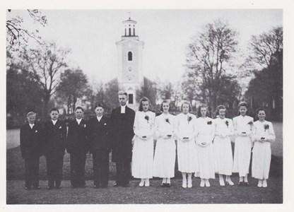 Konfirmander 1942