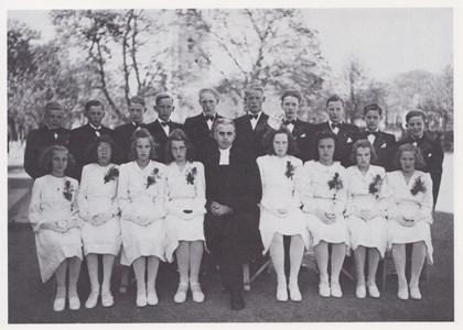 Konfirmander 1945