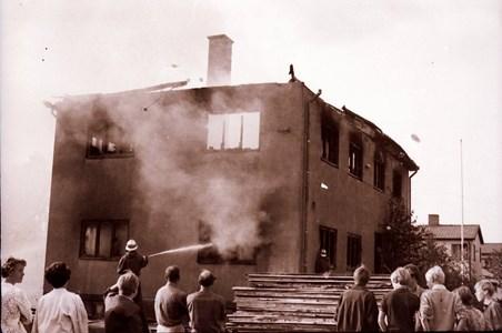 Kvicks Möbelfabriks brand