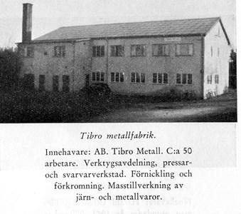 Tibro metallfabrik/Armaturhantverk