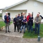 Birgitta Holmen tackade alla som medverkat till byahäftet  i Lindhult