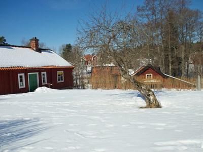 Kvarngården i vinterskrud