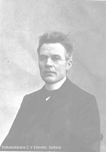 Folkskollärare Karl Viktor Elander, Rönnelid, Rönnestorp