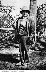 Karl Johan Lo kallad Pinna John i Lerbäck