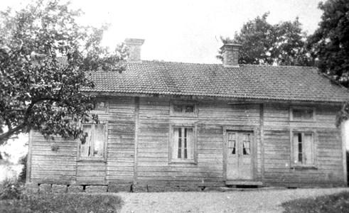 Gålsjö. Flygelbyggnad hos Emil Olsson