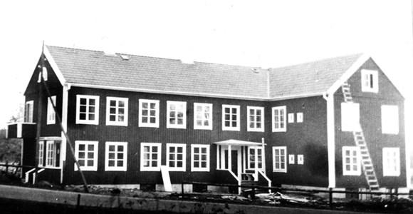 F.d. Ålderdomshemmet i Lerbäck