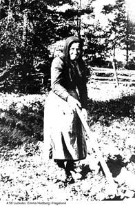 Emma Hedberg i Hagalund Luckebo