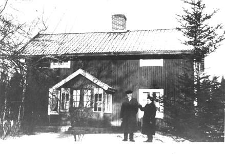 Stickfallet, Dunsjö. Edvin och Karin Lundin