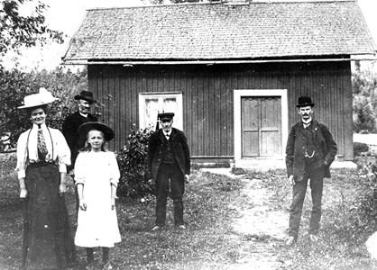 Mörtsjön. Karl och Signe Sjölin