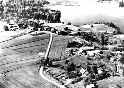Flygfoto över Ingelsby.
