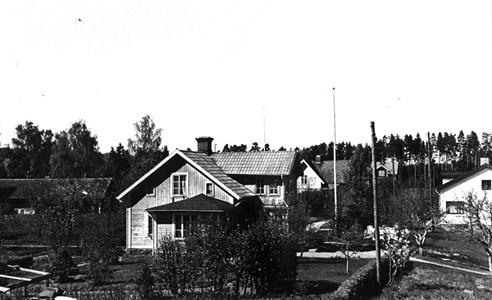 Mariedamm. Sara och Marta Hjertmans hus