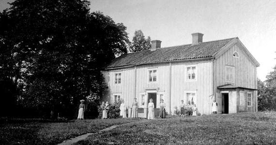 Klysna år 1908, gården som blev Lerbäcks Hembygdsgård