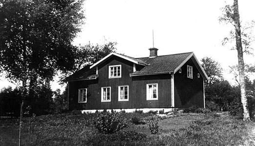 Lugnets lärarbostad byggd år 1808