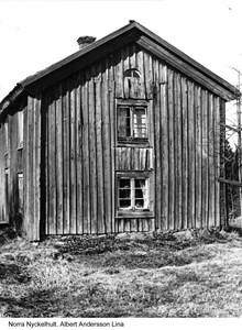 Norra Nyckelhult. Albert Andersson Lina