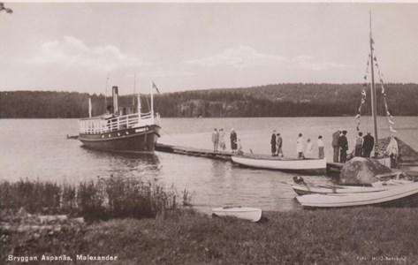 Aspanäs Vykort 21 Juni 1947
