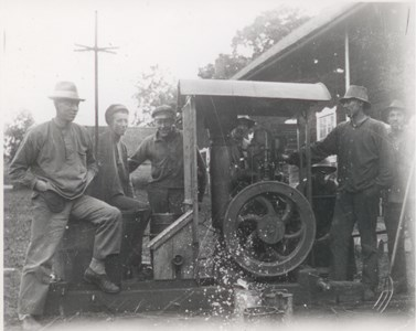 Bålnäs Motortröskverk